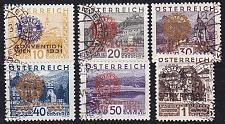 Buy ÖSTERREICH AUSTRIA [1931] MiNr 0518-23 ( Sonder-O )