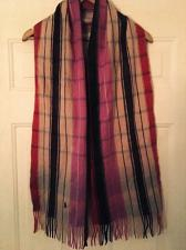 Buy Polo Casmere Striped Multi Colors Pink Grey Red Dark Scarf Ralph Lauren