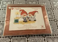 Buy Brand New Duftin Counted Cross Stitch Kit 8011 Patches and Stitches Gnomes