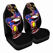Buy Long May He reign Car Seat Covers Nerdy Geeky Pop Culture Set of 2 Front Seat
