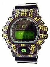 Buy Men Casio G Shock High quality full case CZ crystal Watch Green face