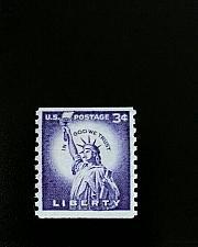 Buy 1958 3c Statue of Liberty, Coil Scott 1057 Mint F/VF NH