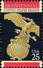 Buy 1989 25c United States Senate Bicentennial Scott 2413 Mint F/VF NH