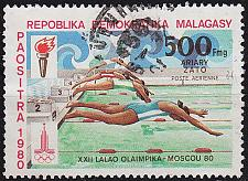 Buy MADAGASKAR MADAGASCAR [1980] MiNr 0866 ( O/used ) Olympiade