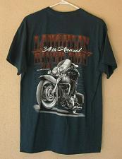 Buy River Run Motorcycle Rally 2016 Laughlin NV Men's Biker T-Shirt Size Large L