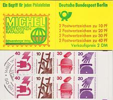 Buy GERMANY BERLIN [Markenheft] MiNr 09 a ( **/mnh )