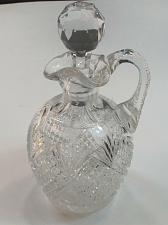 Buy American Brilliant Period Cut Glass cruet ABP Antique