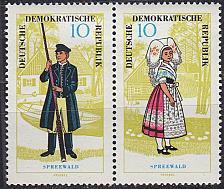 Buy GERMANY DDR [1964] MiNr 1074 WZd147 ( **/mnh ) Trachten