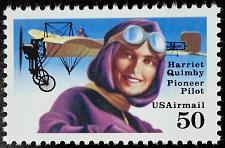 Buy 1991 50c Harriet Quimby, Pioneer Pilot Scott C128 Mint F/VF NH