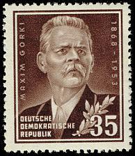 Buy Germany DDR #147 Maxim Gorky; MNH (4Stars) |DDR0147-01
