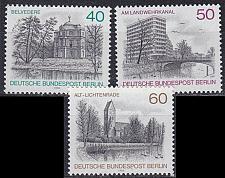 Buy GERMANY BERLIN [1978] MiNr 0578-80 ( **/mnh ) Bauwerke