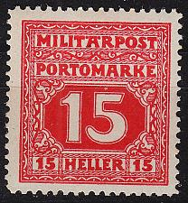 Buy ÖSTERREICH AUSTRIA [BosHerz Porto] MiNr 0019 ( */mh )
