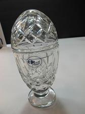 Buy Hand Cut 24% lead crystal candy jar with lid