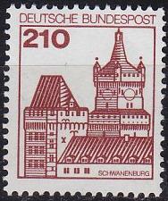 Buy GERMANY BUND [1978] MiNr 0998 ( **/mnh ) Bauwerke