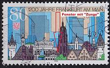 Buy GERMANY BUND [1994] MiNr 1721 F2,I ( O/used ) [02] Plattenfehler