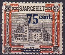 Buy GERMANY Saar [1921] MiNr 0079 I ( */mh )
