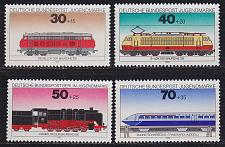 Buy GERMANY BUND [1975] MiNr 0836-39 ( **/mnh ) Eisenbahn