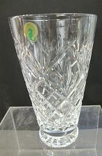Buy Signed Waterford Hand Cut glass vase Irish Crystal