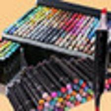 Buy 12/24/30//40//48//60//80//120 Colors Touchfive Copic Markers Sketch Set For Mang