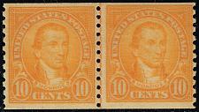 Buy US #603 James Monroe Joint Line Pair; MNH (3Stars) |USA0603jlp-01XVK