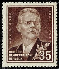 Buy Germany DDR #147 Maxim Gorky; MNH (4Stars) |DDR0147-03