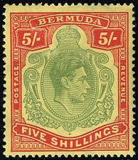 Buy Bermuda #125a King George VI; Unused (3Stars) |BER0125a-03XVK