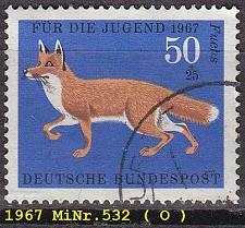 Buy GERMANY BUND [1967] MiNr 0532 ( O/used ) Tiere