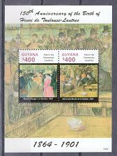 Buy GUYANA - 2014 The 150th Anniversary of the Birth of Henri de Toulouse M2402A