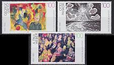 Buy GERMANY BUND [1993] MiNr 1656-58 ( **/mnh ) Gemälde