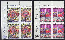Buy UNO Genf [1983] MiNr 0117-18 Eckrand li 4er ( **/mnh )