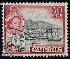Buy Cyprus #175 Kyrenia; Used (3Stars) |CYP0175-04XRS