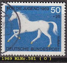 Buy GERMANY BUND [1969] MiNr 0581 ( O/used ) Tiere