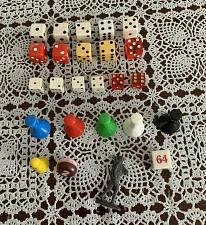 Buy Replacement Game Parts Soldier Metal Token Backgammon Doubling Cube Dice Tokens