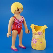 Buy Playmobil Take Along Fashion Store 9113 Shopper Girl Figure Yellow Snap-On Dress