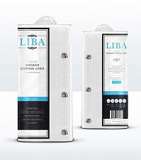 Buy Liba PEVA Antimicrobial PVC Free Shower Curtain Liner, Frosted