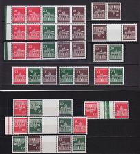 Buy GERMANY BUND [Zdr] H-Blatt 17-19 ex ( **/mnh ) [01] div. Zusammendrucke
