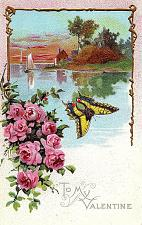 Buy Early 1900's Elegantly Embossed Historic Vintage Antique Topical Post Card #25