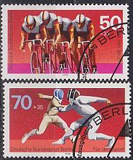 Buy GERMANY BERLIN [1978] MiNr 0567-68 ( O/used ) Sport