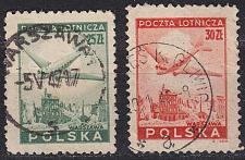 Buy POLEN POLAND [1945] MiNr 0428 ex ( O/used ) [01] Flugzeug
