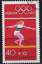 Buy GERMANY BUND [1972] MiNr 0736 ( O/used ) Olympiade