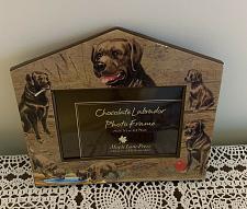 Buy Maple Lane Press Chocolate Labrador Retriever Photo Frame 4 x 6 Photo 4 Charity