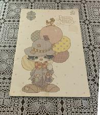Buy 1985 Precious Moments Book of Clowns Book PM7 Counted Cross Stitch Patterns