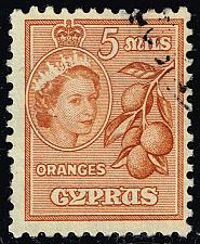 Buy Cyprus #170 Oranges; Used (3Stars) |CYP0170-01XRS