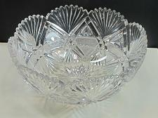 Buy ABP cut glass bowl hand polished American brilliant for