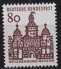 Buy GERMANY BUND [1964] MiNr 0461 ( **/mnh ) Bauwerke