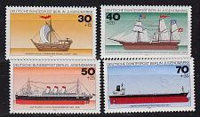 Buy GERMANY BERLIN [1977] MiNr 0544-47 ( **/mnh ) Schiffe
