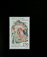 Buy 1992 France Biron Castle, Tourism Series Scott 2293 Mint F/VF NH