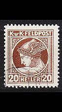 Buy ÖSTERREICH AUSTRIA [Feldpost] MiNr 0052 A ( O/used )