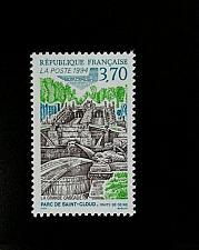 Buy 1994 France The Great Cascade, St. Cloud Park Scott 2437 Mint F/VF NH