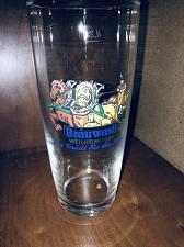 Buy German Beer Glass 0.25L Brauwasfl WEILHEIM / OBY Collectible